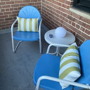 Outdoor Furniture Set (three pieces / Pillows Included) for Sale in Alexandria, VA