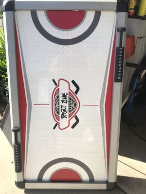 Air hockey table-mid size - used 2'x4' for Sale in Downey, CA