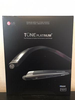 LG Tone Platinum Premium Wireless Headset- Bluetooth for Sale in Denver, CO