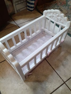 Doll crib for Sale in Winter Haven, FL