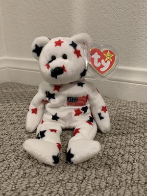 "Ty beanie baby bear ""glory"" for Sale in Menifee, CA"