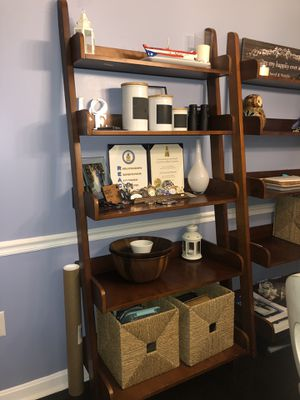 Ladder shelve Pottery Barn (set of 2) for Sale in West Springfield, VA