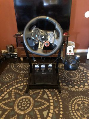 logitech g29 w/shifter and stand for Sale in Bakersfield, CA