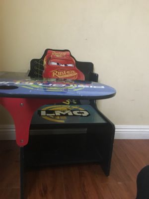 Cars kids desk for Sale in Cypress, CA