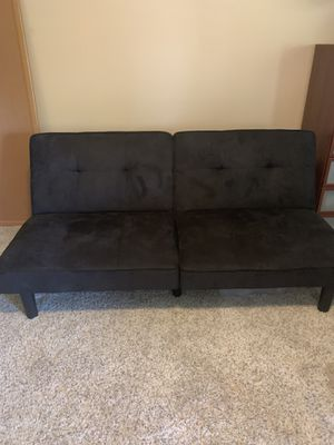 Black futon for Sale in Riverside, CA