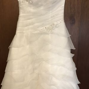 David's Bridal White Weeding Dress, Size 12 for Sale in Saint Paul, MN