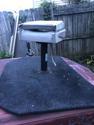 Fishing deck with seat for Sale in Lebanon, TN