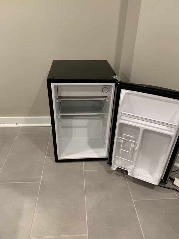 Emerson mini fridge and freezer stainless
