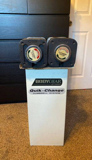 HOIST Adjustable Dumbbell Set w/ Stand for Sale in San Diego, CA