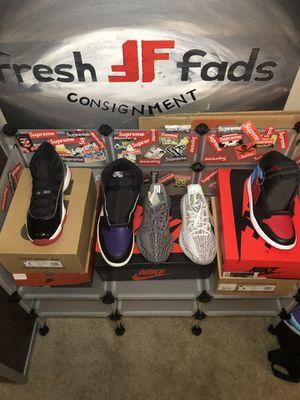 Jordan Nike Yeezy supreme adidas for Sale in Kennesaw, GA