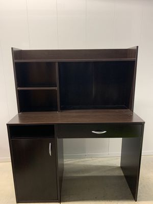 Desk and bookcase for Sale in Morgantown, WV