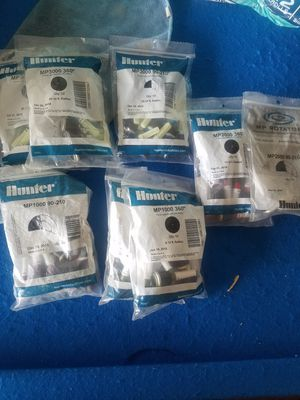 sprinklers nozzles, timer and valves for Sale in Moreno Valley, CA
