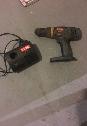 Ryobi 18v drill and charger for Sale in Fargo, ND