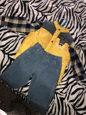 Toddler boys 3T outfit for Sale in Saint Anthony, ND
