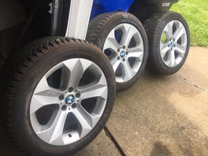 3 BMW X6 1 rear rim and 2 front rims MAKE AN OFFER for Sale in Cleveland, OH