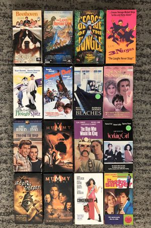 Vintage VHS Lot 16 VHS for Sale in Mountain View, CA
