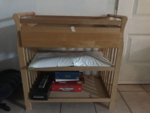 Diaper changing table for Sale in Tampa, FL