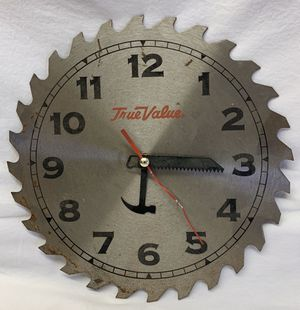 True value saw blade clock for Sale in Fredonia, KS