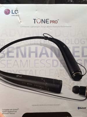 Lg tone pro Bluetooth headphones for Sale in Columbus, OH
