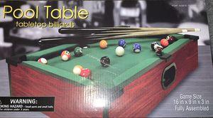 Mini Pool Table for Sale in Escondido, CA
