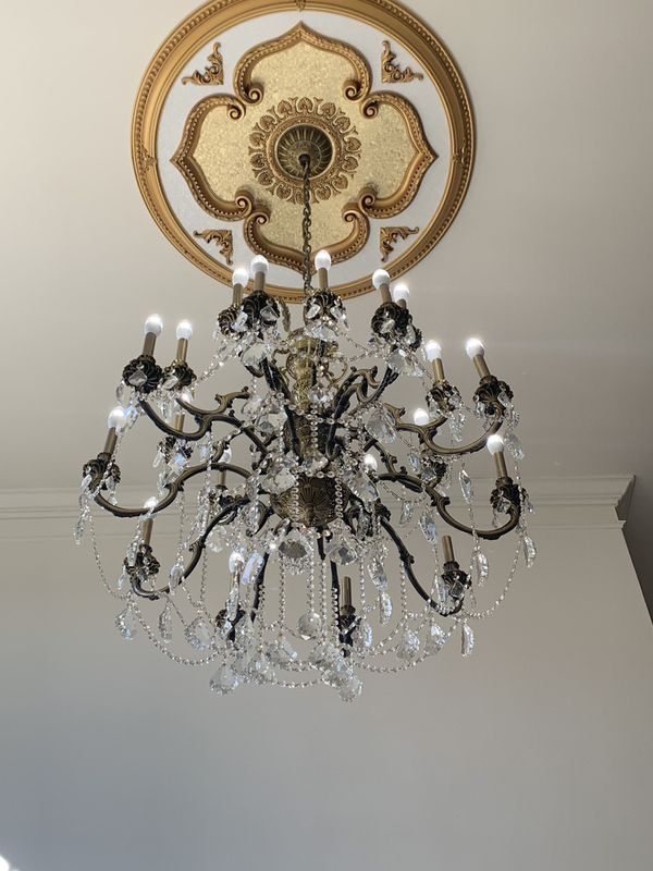 Marseille Antique Bronze With Royal Cut Crystals