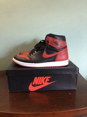 "Jordan 1 ""Bred"" 2016, Size 13 for Sale in Bellwood, IL"