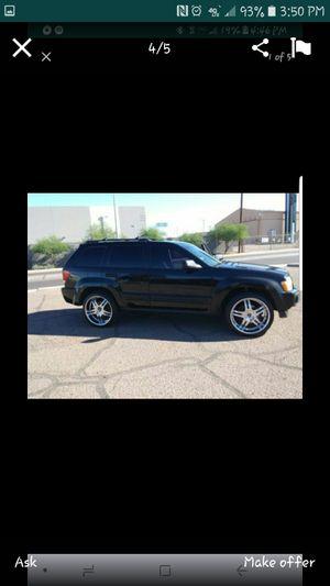 06 Grand Jeep Cherokee Laredo on 22's for Sale in Phoenix, AZ