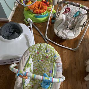 Infant Toys, Baby Swing, Jumper, Walking All For $100 for Sale in Nashville, TN