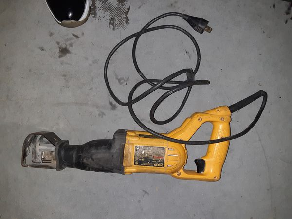 Dewalt electric sawzaw