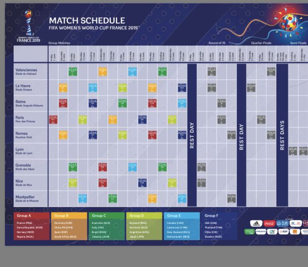 Women's World Cup Final and Semi Final Tickets