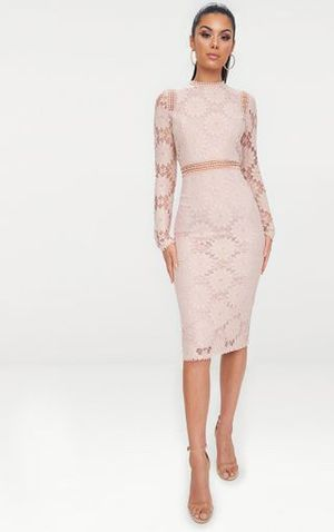 Long Sleeve Lace Dress for Sale in Walled Lake, MI