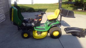 John Deere D130 with Bagger and Mulcher kit for Sale in CANAL WNCHSTR, OH
