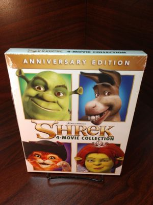 Shrek 4 Movies Blu-ray Boxset (New) for Sale in Columbia, MD