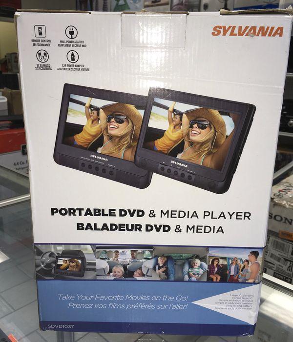 """Car DVD & Media Player Portable Reproductor de video para Carro Sylvania 10"""""""