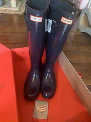 Hunter rain 🌧 boots size 9 for Sale in Costa Mesa, CA