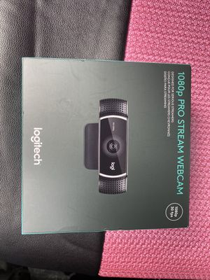 LOGITECH 1080p Pro Stream Webcam for Sale in Tampa, FL
