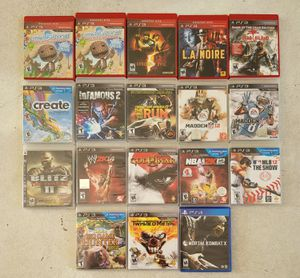 PS3 Games for Sale in Niederwald, TX