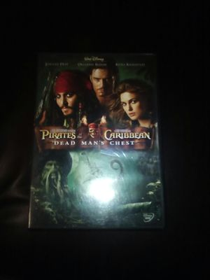 Pirate's Of The Caribbean Dead Man's Chest 2 (DVD) for Sale in Saint Joseph, MO