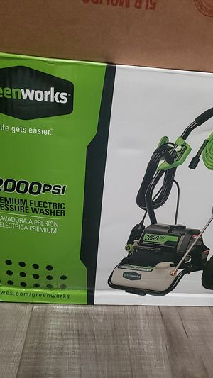 Greenworks pressure washer for Sale in Los Angeles, CA