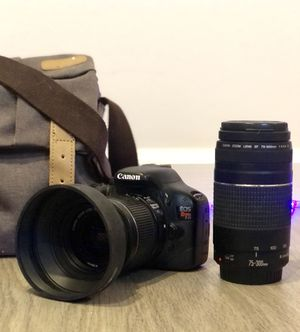 Canon EOS Rebel T2i (2 lenses!!!) for Sale in San Diego, CA