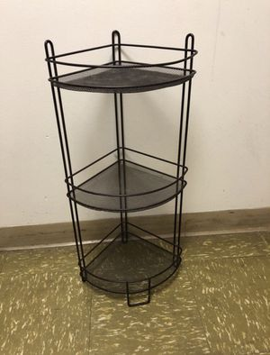Corner shelf- metal, bronze color for Sale in Boston, MA