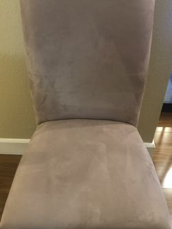 Taupe/Beige Dining Room Chairs X4 for Sale in Los Angeles,  CA