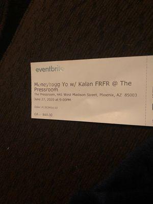 2Moneybagg Yo tickets for Sale in Tempe, AZ