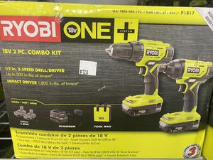 Brand new Ryobi 2 piece drill set only asking $120 for Sale in La Habra, CA