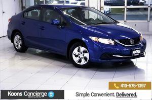 2013 Honda Civic Sdn for Sale in White Marsh, MD