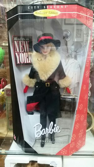 1998 Winter in New York Barbie New in Box for Sale in Catonsville, MD
