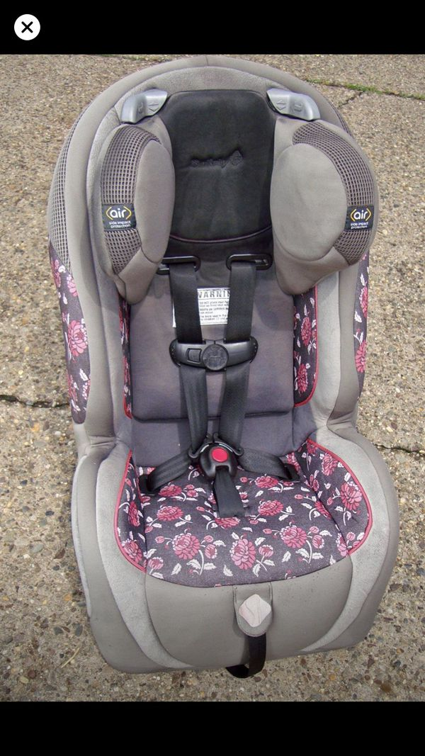 Safety 1st toddler car seat for a girl