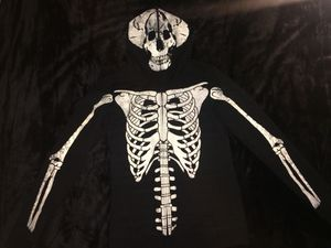 Skeleton zip up and leggings for Sale in Lake Tapps, WA