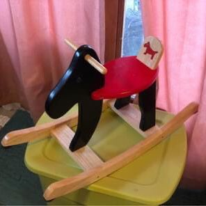IKEA Wooden Rocking Horse for Sale in Newburgh Heights, OH