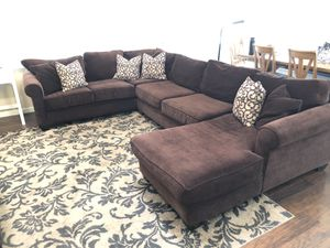 Sectional Couch with Pillows for Sale in Lodi, CA